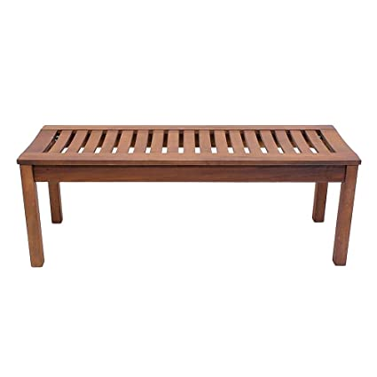 Achla Designs Backless Bench, 4 Foot