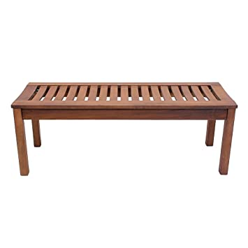 overstock free shipping today backless foot home garden bench product savannah