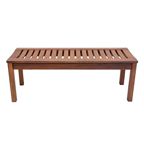 Attractive Achla Designs Backless Bench, 4 Foot