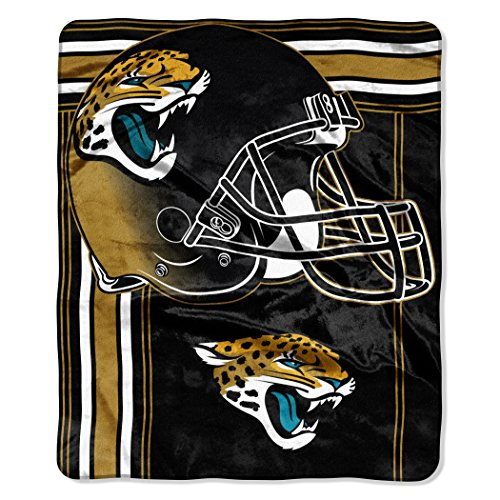 - The Northwest Company NFL Jacksonville Jaguars Touchback Plush Raschel Throw, 50
