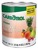 Fruit Carbotrol Salad 6 Case 10 Can
