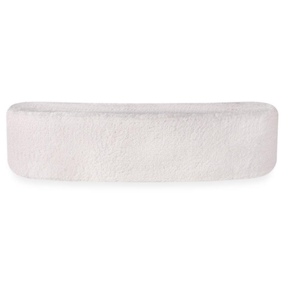 Terry Cloth Athletic Basketball Head Sweat Bands Suddora Sweatband//Headband
