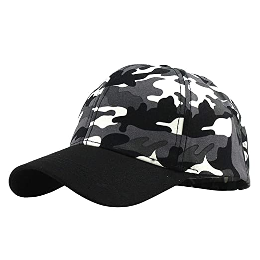 2604fdde322 Image Unavailable. Image not available for. Color: Yucode Washed Military  Hat Kids Washed Low Profile Cotton and Denim Plain Baseball Cap Hat