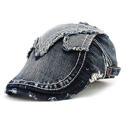 de B algodón sólido hat y Sombreros Sombrero de de de GLLH de Color Sol Viejo Sombrero Hembra Sombrero Dril Estaciones qin E Cuatro algodón Macho S8q5Pw0x