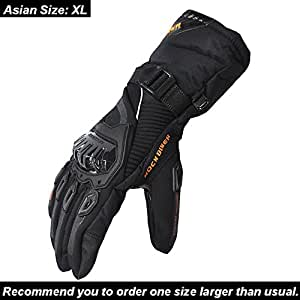 Amazon.com: KEMIMOTO Winter Motorcycle Gloves Warm Touch