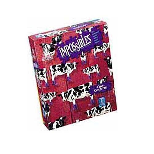 Impossibles Puzzle Cow Country 750Piece