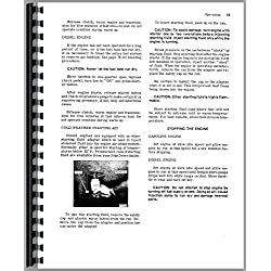 John Deere 55 Combine (-46800) OEM Operators Manua