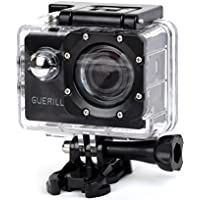 GUERILLA PRO3000 Sports Action Camera, GUERILLA Pro Series 12 MP Full HD 1080P Action Camera, Warerproof 120 Degree Wide Angle Lens 2.0inch LCD, Include Accessories