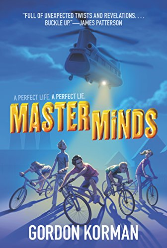 Masterminds by [Korman, Gordon]