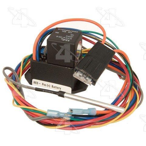 Four Seasons 35879 Radiator Fan Mounted Cooling Fan Temperature Switch ()