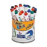 BIC KiDS 'Mini VELLEDA' Dry Wipe Markers (Pot x 24)