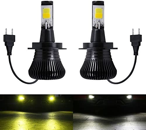 JP 1797 LED H11 H8 H16 Daytime Running Lights DRL Bulb White 6000K Daylight Fog Lamps for Trucks Cars Kit Plug and Play Error Replacement Bulbs 12V 30W 2800LM Super Bright COB Chip 1 Year Warranty