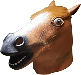 Latex Animal Mask Headgear Halloween Party Costume Decorative Mask