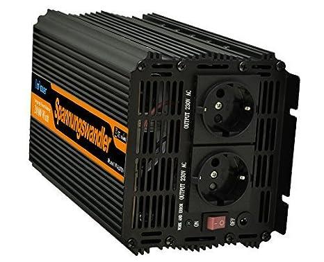 Inversor electrico de w convertidor de voltaje de v a v de