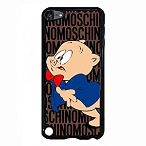 Moschino Logo Toy Pattern iPod Touch 5th, Moschino Logo Toy Pattern Phone Funda, Moschino Logo Toy Pattern Hard Plastic Black Cover