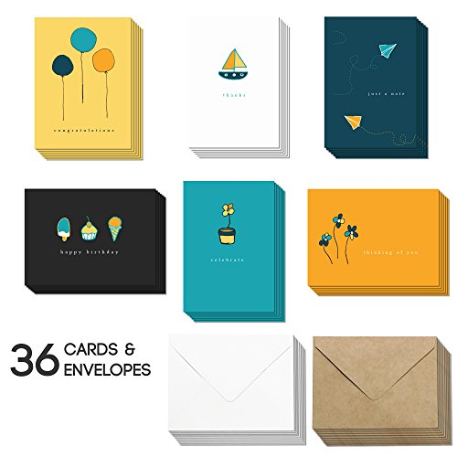 Blank All Occasion Cards - Greeting Cards with Envelopes for Any & Every (Occassion Note Cards)