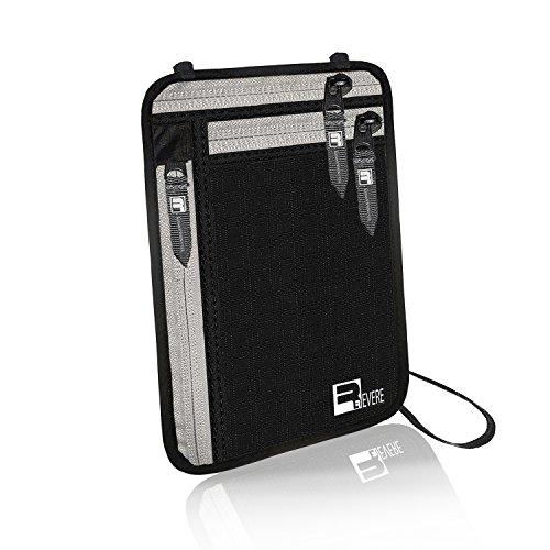 RFID Neck Pouch Passport Wallet Traveler Safe Money Holder iPhone Phone Stash by Revere Sport (Image #2)