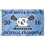 North Carolina Tar Heels Men's and Women's Lacrosse Champs Flag