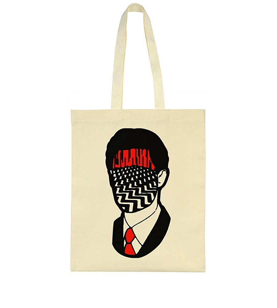 idcommerce Red Room Mixed With Agent Cooper Design Tote Bag idcmc-CanvasBag-BGE-BJXC