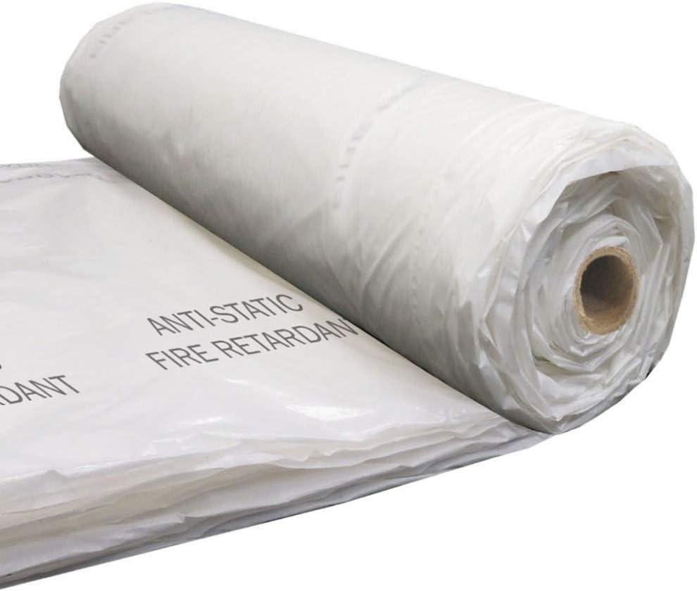 Poly String Reinforced Fire Retardant Plastic Sheeting Polyethylene 20X100/' 6mil