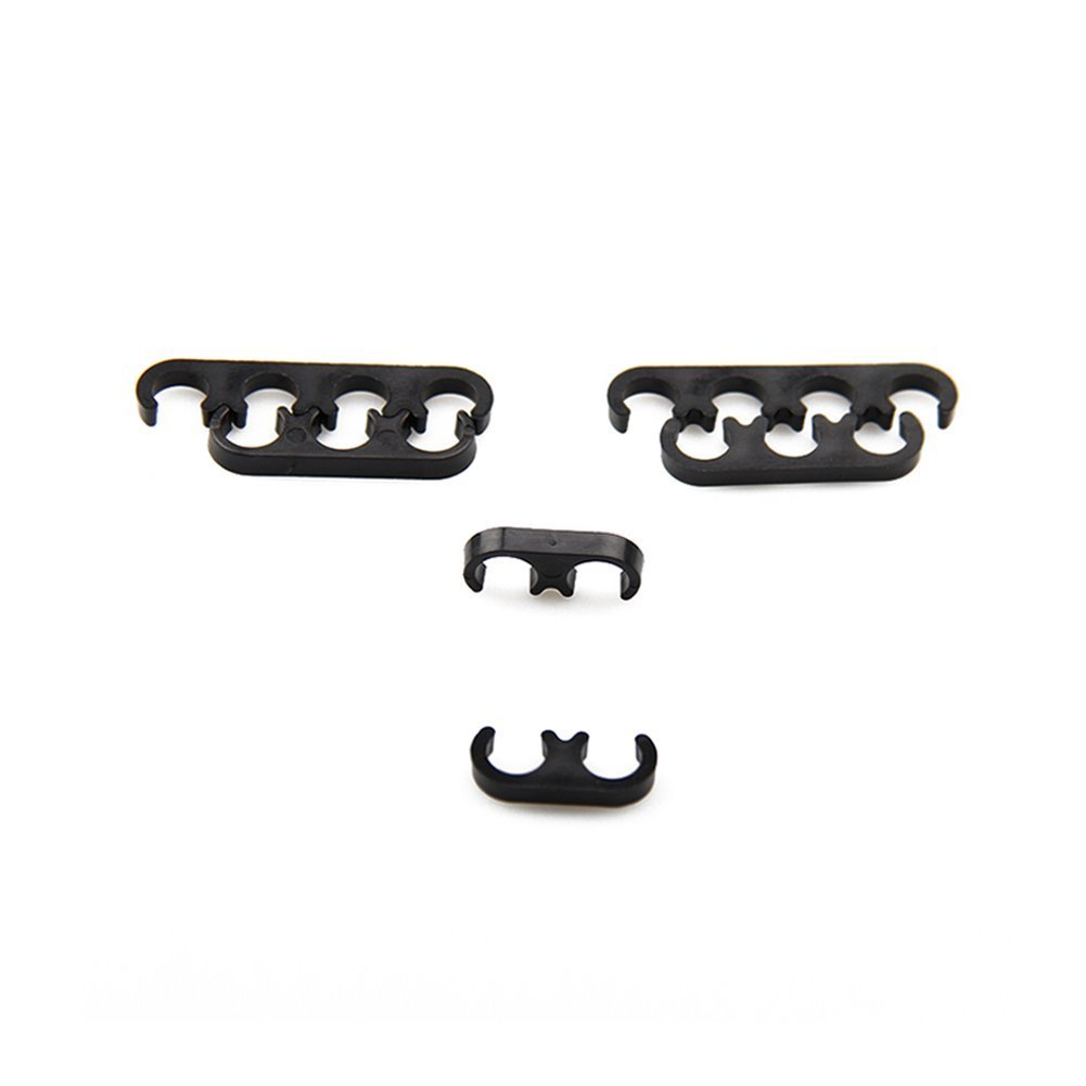 Bang4buck 6 Pieces Spark Plug Wires Separator Divider Kit 7mm and 8mm 9728