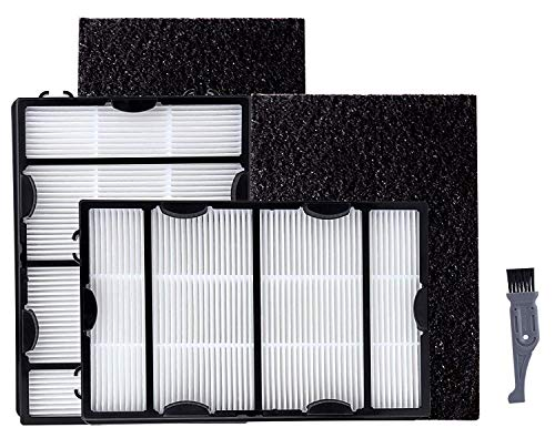 I clean Fit with Holmes B Filter (HAPF600) 2Packs, Replacement Holmes HEPA Air Filter,Part # HAPF600, HAPF600D, HAPF600D-U2