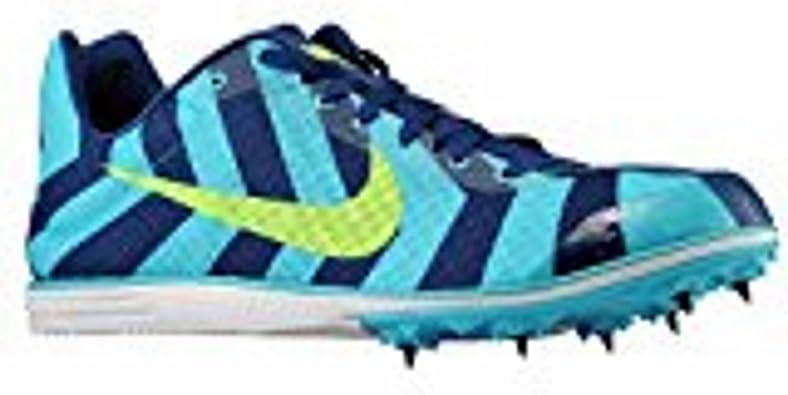 Nike Zoom Rival D8 Hombres de la pista Spike Zapatillas de running azul/azul/verde (12,5): Amazon.es: Zapatos y complementos