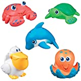 Best Munchkin Animal Toys - Munchkin Five Sea Squirts (2 PACK) Review