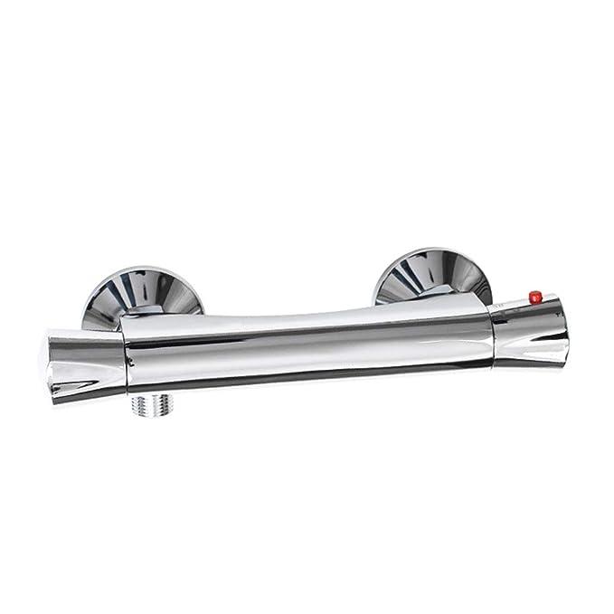 HY Calentador de Agua eléctrico Solar de la grúa de la Ducha de Cobre Calentador de Agua Constante automático Caliente y frío de la válvula: Amazon.es: ...