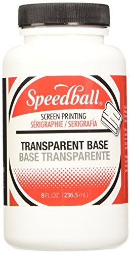 Speedball 8-Ounce Fabric/Acrylic Transparent Base (4552)