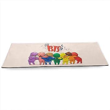 Amazon.com : Quxiangy BTS Kpop Yoga Mat - Pro Yoga Mat Eco ...