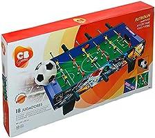 ColorBaby - Futbolín madera CBGames, Deluxe, color azul (43312 ...