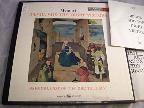 Amahl And The Night Visitors LP - RCA Victor Red Seal - LM 1701
