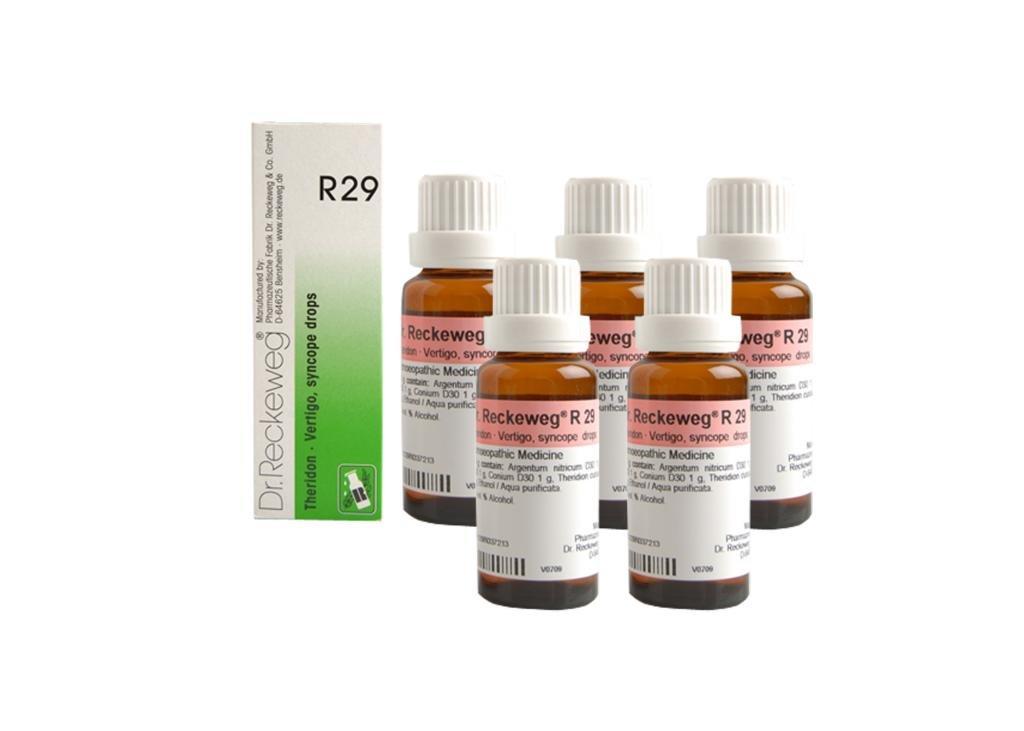 Dr.Reckeweg Germany R29 Vertigo, Syncope Drops Pack Of 5 by Dr. Reckeweg (Image #1)
