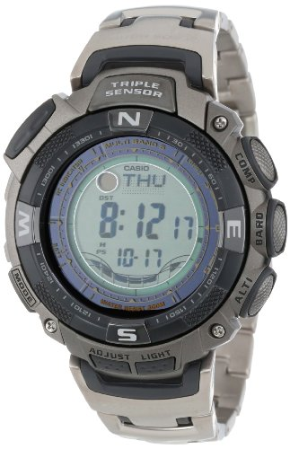 Casio Men's PAW1500T-7V Pathfinder Multi-Band Solar Atomic Ultimate Watch