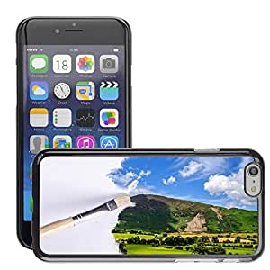 """Hot Style Cell Phone PC Hard Case Cover // M00152645 Paintbrush Outdoor Sunlight Wallpaper // Apple iPhone 6 4.7"""""""