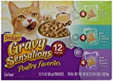 Cheap Friskies Poultry Favorites Cat Food, Variety Pack, 12 Pouches, 3 oz each