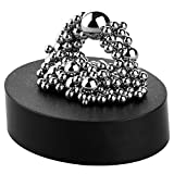 PROLOSO Magnetic Sculpture Desk Toy for Intelligence Development and Stress Relief (Set of 160 Balls, 1 Magnet Base)