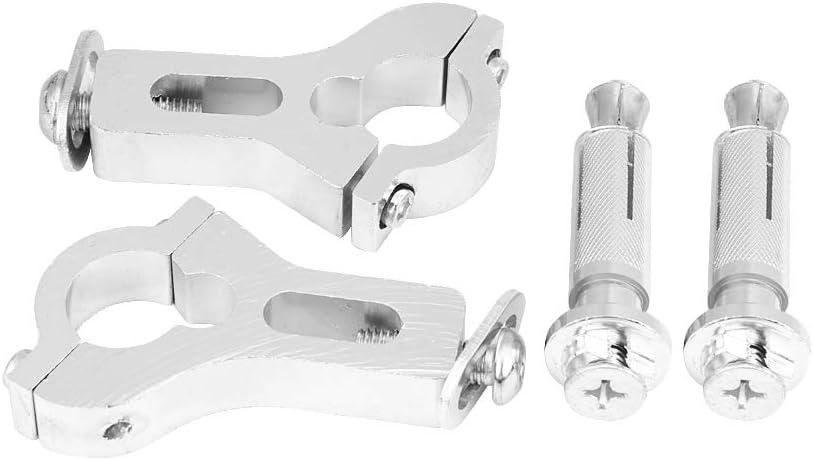FastPro Motocicletta Paramani Morsetto Kit di Montaggio Universale per 7//20,3/cm 22/mm Manubrio o 1/1//8 28/mm Fat Bar