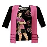 Wizards Of Waverly Place - Alex Flowers Girls Youth Long Sleeve with Scarf