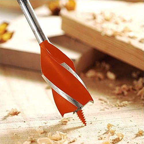 M/èche h/élico/ïdale pour le travail du bois Tige hexagonale 10 mm-25 mm