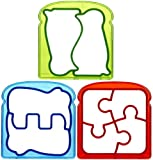 Munchkin Silly Sandwich Cutters - Multicolor - 3 ct
