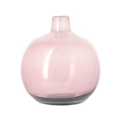 Bruno Evrard Astoria jarrón damajuana Rosa en Cristal Reciclado 24 cm – Alric