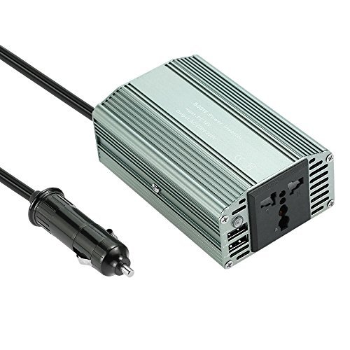 230v Inverter - KKmoon 500W WATT Car Power Inverter DC 12V to AC 220V Converter with Dual USB Charger Adapter