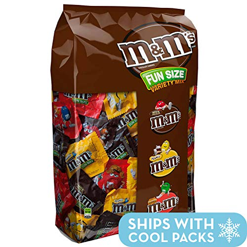 M&M'S Variety Mix Chocolate Fun Size Candy 85.23-Ounce 150-Piece Bag -