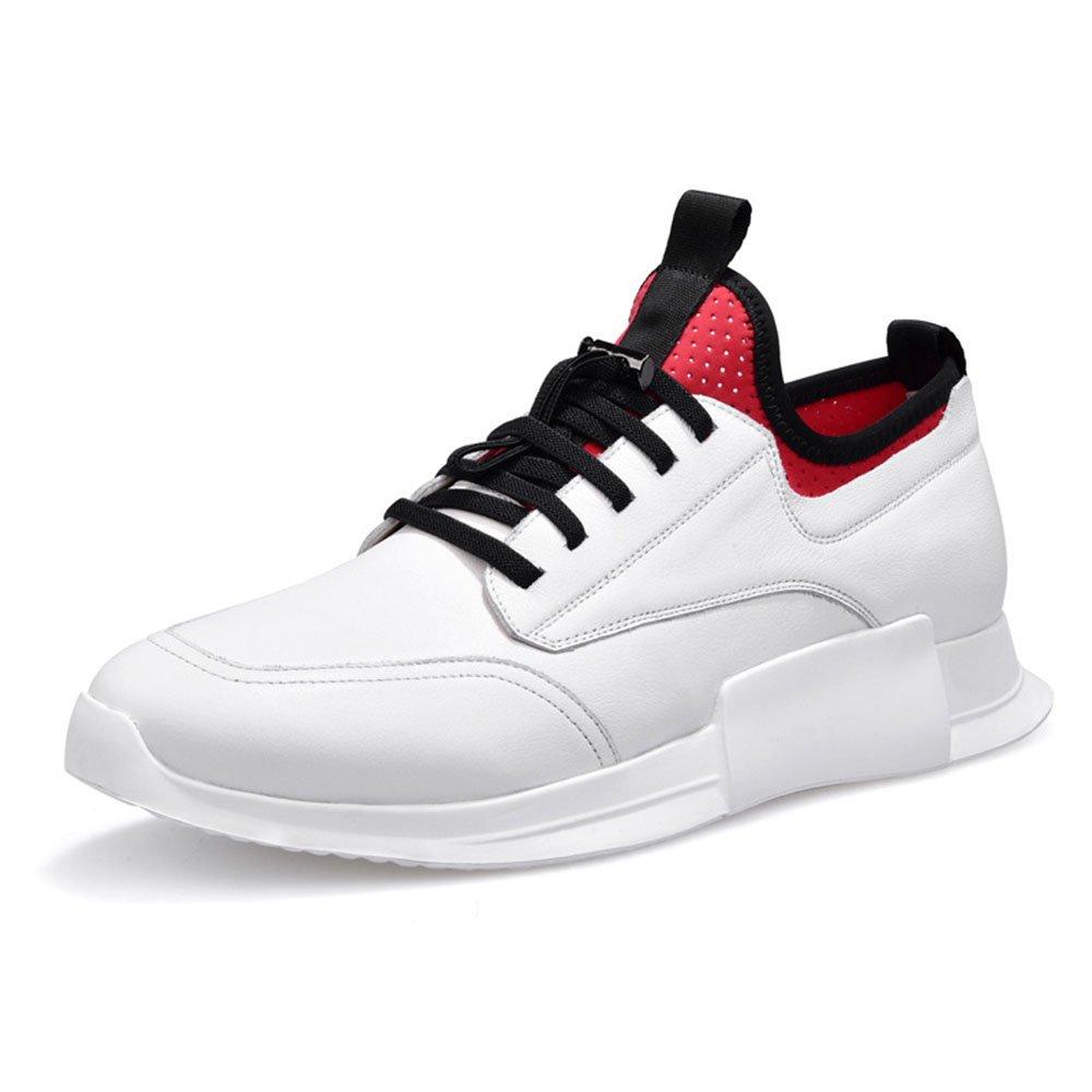 FLYMD Running Shoes Zapatillas de Deporte de los Hombres, Zapatillas de Deporte Retro del Verano. (24.0-27.0cm) Sneakers for Men (Color : Blanco, tamaño : 42 EU) 42 EU Blanco