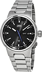 Oris Williams F1 Team Day Date Automatic Black Dial Stainless Steel Mens Watch 01 735 7716 4154-07 8 24 50