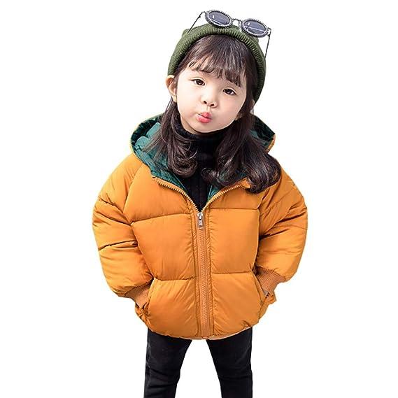 08f586d1e95d9 Amazon.co.jp:  HSFEO ダウンジャケット 冬服 女の子 1-3歳 フード付き ...