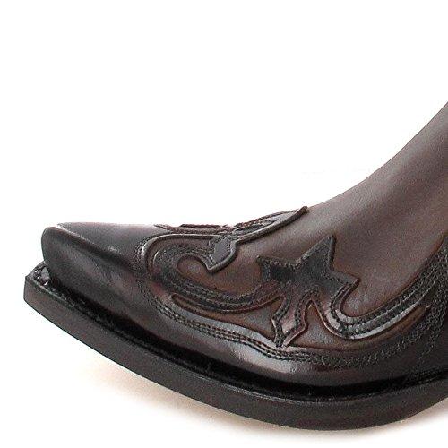 Sendra Støvler 3241 Florentic Negro Neger Sprinter Vestlige Støvler Til Kvinder Og Mænd Sorte Fuchsia iBqyPWzu6x