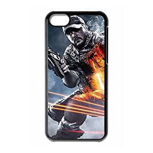 kyle wright battlefield iPhone 5c Cell Phone Case Black xlb2-360373